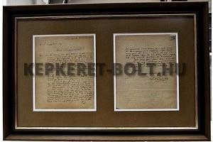 Kossuth Lajos amerikai útjának végén írt levele W. T. Coggshall újságírónak, aki a New York Tribune riportereként tudósította lapját a kormányzó Egyesült Államokbeli tevékenységéről. Az értékes családi örökséget az 1964 óta Amerikában élő, miskolci származású Stephen Windsortól kapta a monoki Kossuth Lajos Emlékház. A levelet átadja Kerber Ildikó,  Stephen Windsor rokona illetve Gergely Zsolt a Megyei Közgyűlés alelnöke Szepessy Zsoltnak Monok polgármesterének.  Időpont: 2009. október 29. 10.00