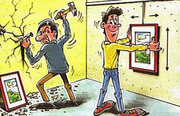 Felejtse el a szögelést, a fúrkálást és az órákig tartó méricskélést, centizgetést! A fal fúrások kora lejárt! Képfüggesztő rendszer és megoldódnak a gondjai!